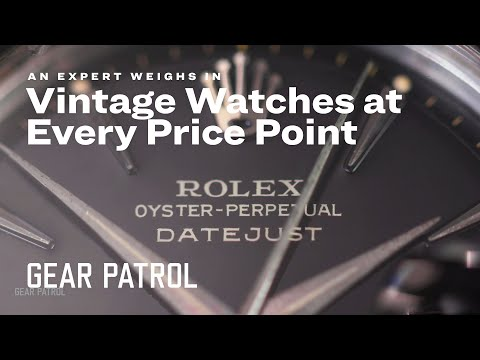 Rolex Expert Breaks Down What Vintage Watch To Buy At Every Price Point