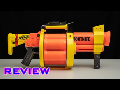 [REVIEW] Nerf Fortnite GL | 6-ROUND GRENADE LAUNCHER!?