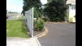 Palisade Sliding Gate And Fence