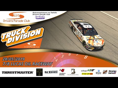 TRUCK DIVISION | 7/8 Lucas Oil Speedway | Drivers Parade Club