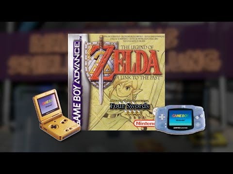 Gameplay : The Legend of Zelda A Link to the Past [Gameboy Advance]