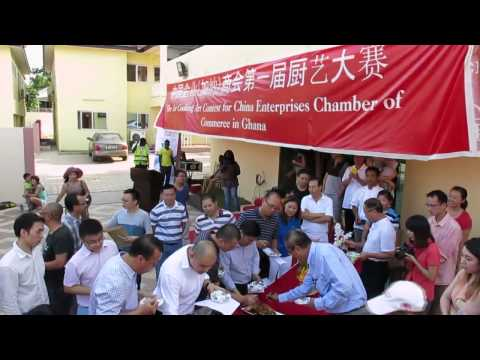 Chinese business community in Ghana hold cooking art contest