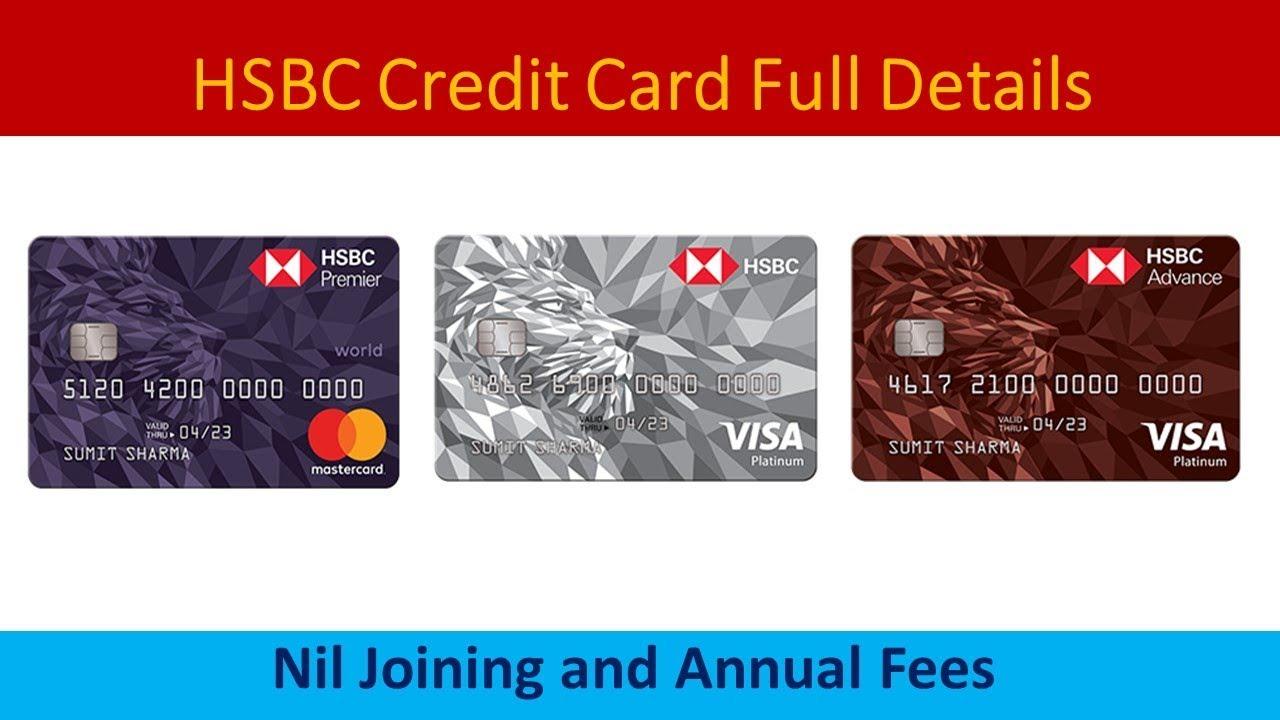 HSBC Credit Card Full Details