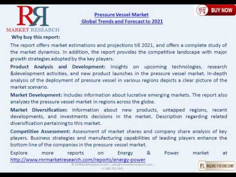 Pressure Vessel Markets complete analysis to 2021 Projecting  A Growth Of 5.38% CAGR