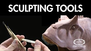 How to Sculpt a Dinosaur: Sculpting Tools - FREE CHAPTER