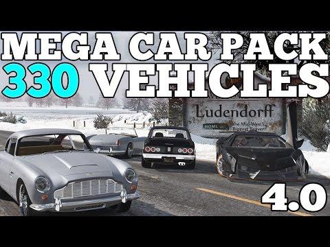 GTA 5: Mega Realistic Car Pack 4.0 Car Showcase (330 CARS) [DOWNLOAD]