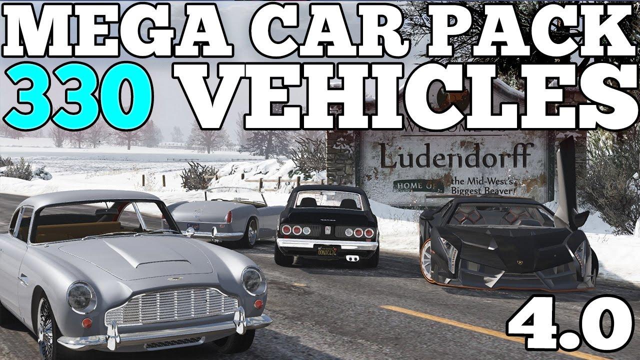 GTA 5: Mega Realistic Car Pack 4 0 Car Showcase (330 CARS) [DOWNLOAD]