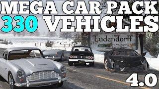 GTA 5 Mega Realistic Car Pack 4.0 Car Showcase 330 CARS DOWNLOAD