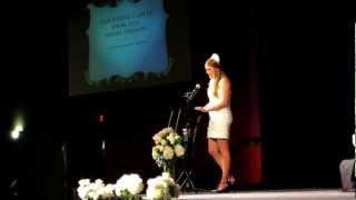 Nursing Pinning Ceremony Graduation Speech!