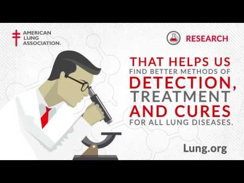 American Lung Association: Lung Research