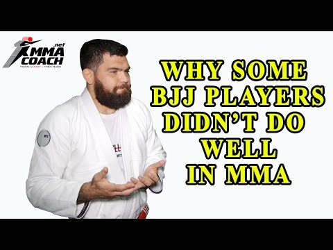 Why Some BJJers Didn't Do Well In MMA - Robert Drysdale Interview Part 5
