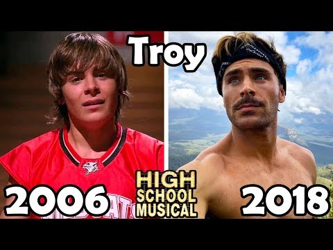 High School Musical Before and After 2018 Then and Now