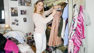 THE ULTIMATE WARDROBE DECLUTTER I Organising my life!