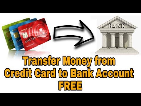 Money Transfer From Credit Card To Bank Account