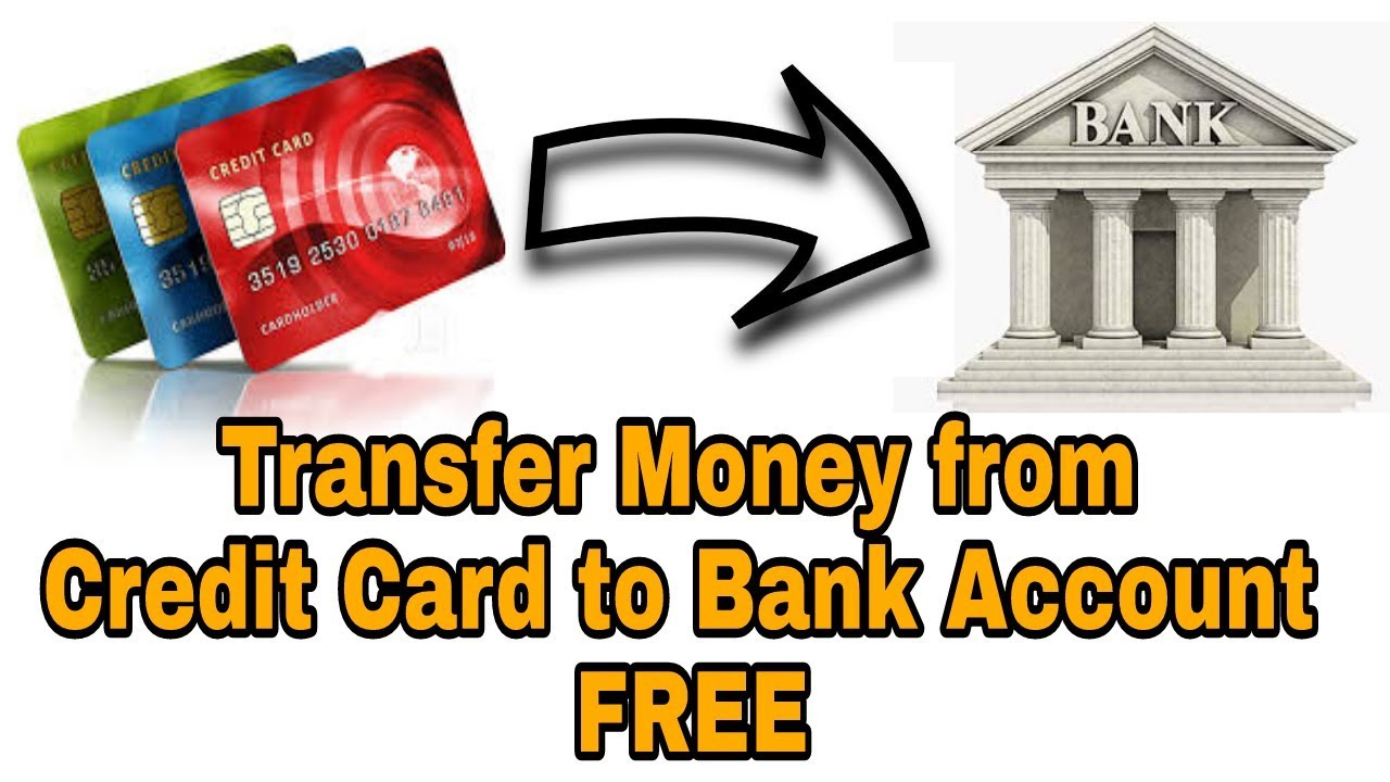 transfer from chase credit card to bank account