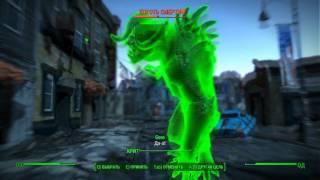 Fallout 4 Коготь смерти Конкорд без Силовой брони ножом
