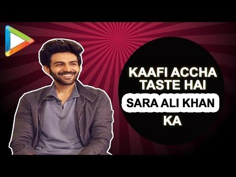 MUST WATCH: Kriti Sanon pulls Kartik Aaryan鈥檚 leg over SARA ALI KHAN | Luka Chuppi