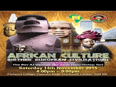 African Culture Birthed European Civilisation
