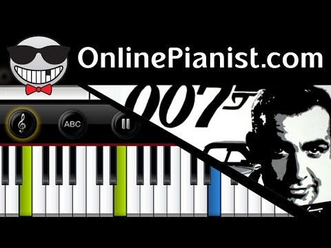 Monty Norman - James Bond Theme - Piano Tutorial & Sheets (Easy version)