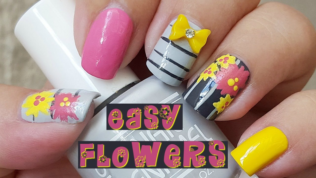Easy Nail Art With Acrylic Paint ~ the best inspiration for design ...