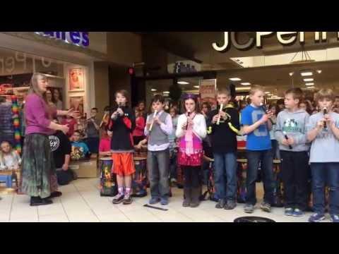 Edgerton/hedge elementary schools - fourth grade spring performance. Kalispell mall, KALISPELL MT