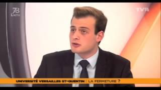 """Le 7/8 L'Actu – Edition spéciale """"Fermeture de l'UV.S.Q. ?"""" du vendredi 20 décembre 2013"""