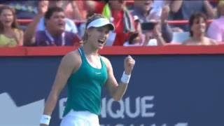 2016 Coupe Rogers Hot Shot | Genie Bouchard
