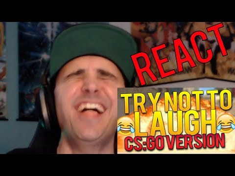 SUMMIT1G REACTS TO TRY NOT TO LAUGH CHALLENGE CS:GO VERSION