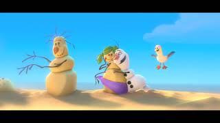 Снеговик Олаф и его песня про лето из мультфильма Холодное сердце HD качество