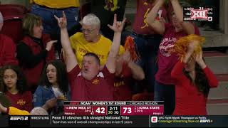 New Mexico State vs Iowa State Women's Basketball Highlights