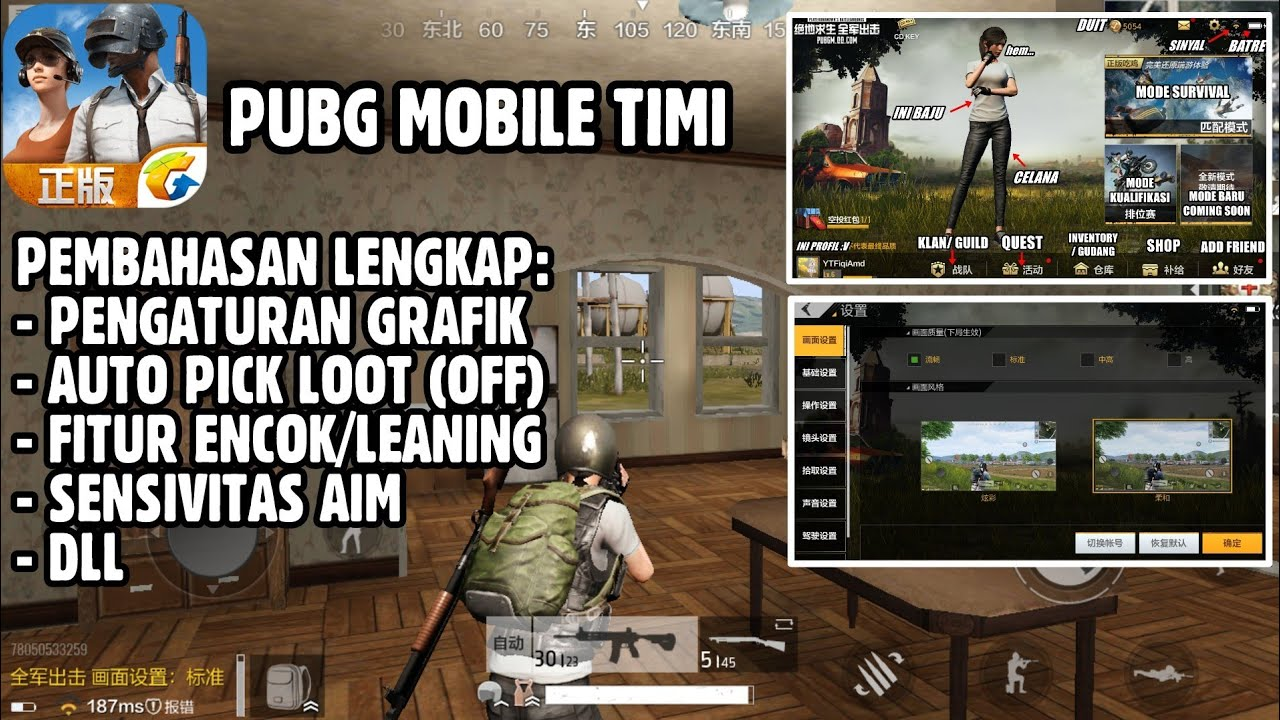 Reduce Lag In Android Pubg Mobile With Gfx Tool: 2 Settingan PUBG Agar Tidak Lag Di Android Gamer Indonesia