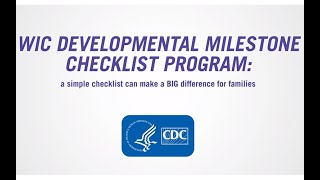 Implementing Your WIC Developmental Milestone Checklist Program