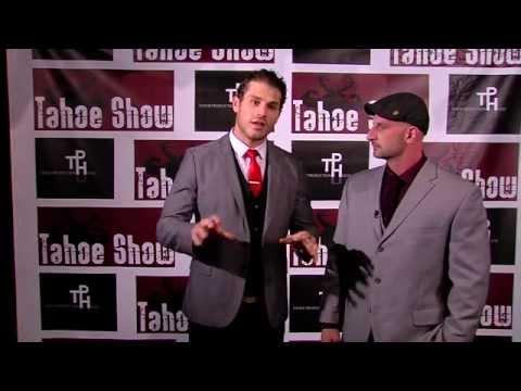 Chris Minnes & Lou Ferrigno Jr backstage at the Tahoe  2014