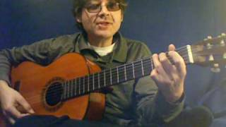How to Play Oh Shenandoah on Guitar