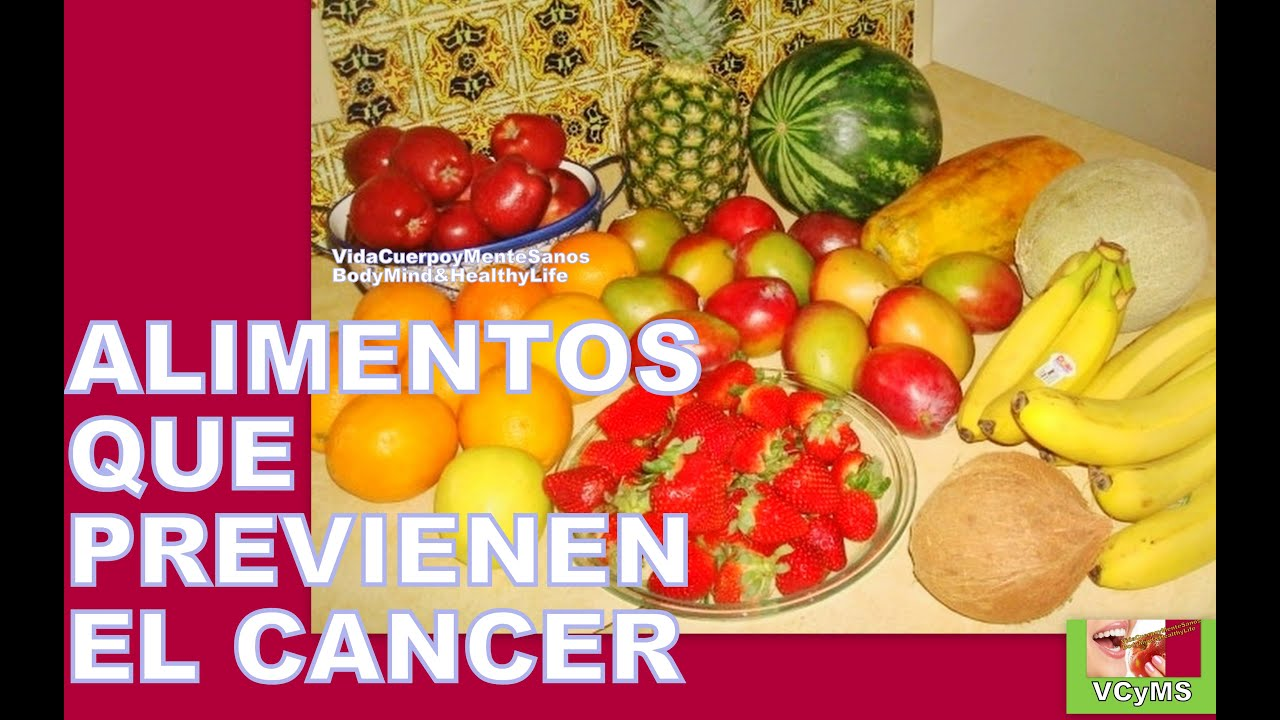 8 alimentos que previenen el cancer alimentos anticancerigenos youtube - Alimentos previenen cancer ...