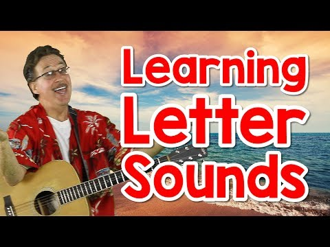 Learning Letter Sounds | Version 3 | Alphabet Song for Kids | Phonics for Kids | Jack Hartmann