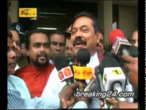 23 Candidates Handed In Their Nomination To Contest, 2010 Sri Lanka Presidential Election