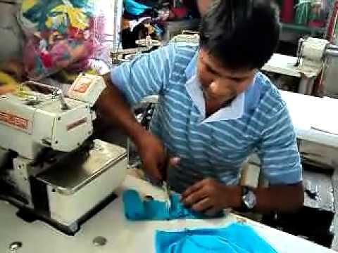 COSTURA FACIL... GAMARRA PERU una camiseta en 4 minutos... t-shirt in 4 minutes