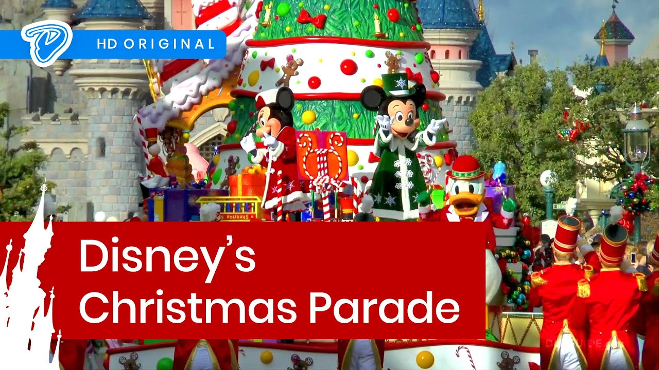 disneys christmas parade disneyland paris la parade de nol disney youtube