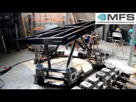 Motion platform 6DOF 4