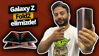 Samsung Galaxy Z Fold 2 elimizde! Katlanan telefona ilk bakış!