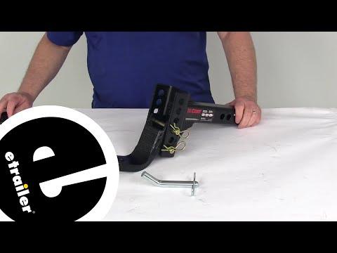 Curt Ball Mounts - Adjustable Ball Mount - C45901 Review - etrailer.com