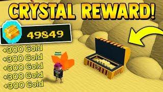 BRINGING CRYSTALS TO THE END!! 💎 *REWARD* | Build a boat for Treasure ROBLOX
