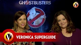 Superguide interviewt de cast van  Ghostbusters