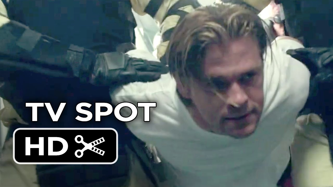 Blackhat TV SPOT - Welcome to the New Battlefield (2015) - Chris Hemsworth  Movie HD