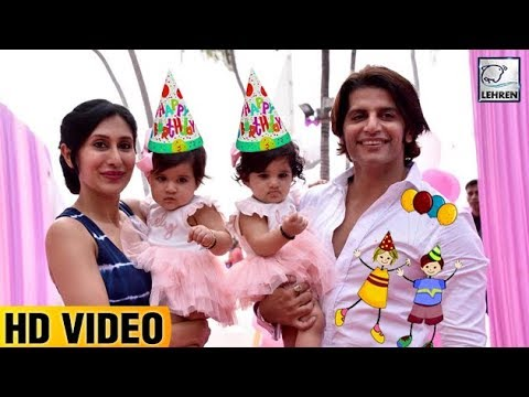 Karanvir Bohra's Twin Daughters Grand Birthday Party FULL VIDEO