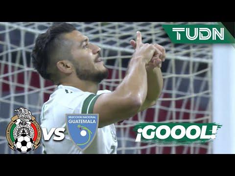 ¡Gol de México! ¡Gol de Henry Martín! | México 1-0 Guatemala | Amistoso 2020 | TUDN