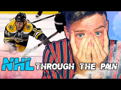 ICE HOCKEY PLAYERS ARE SUPER-HUMAN!  ||  NHL Playing Through The Pain ||  REACTION
