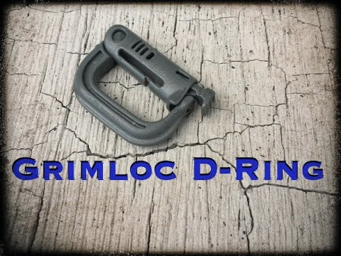 Grimloc MOLLE Locking D-Ring REVIEW