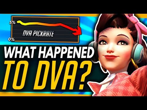 Overwatch | What Happened To Dva? - Fall Of The Meta Queen!